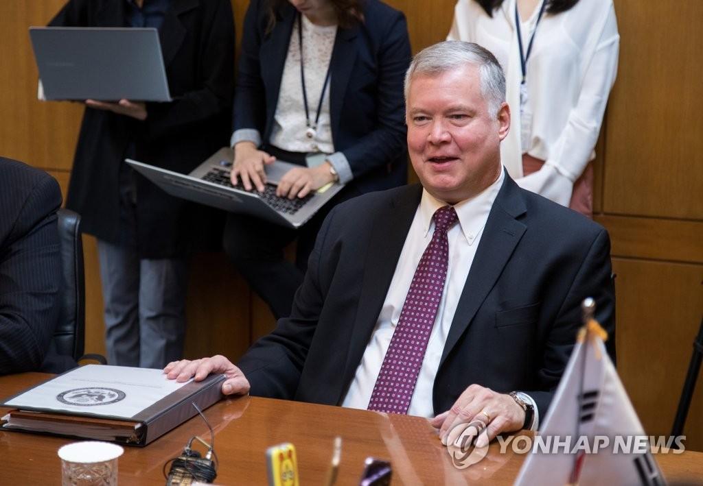 朝核六方会谈韩美团长在首尔会晤