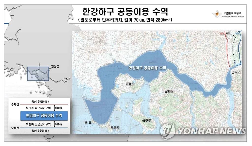 韩朝明起启动汉江入海口联合考察