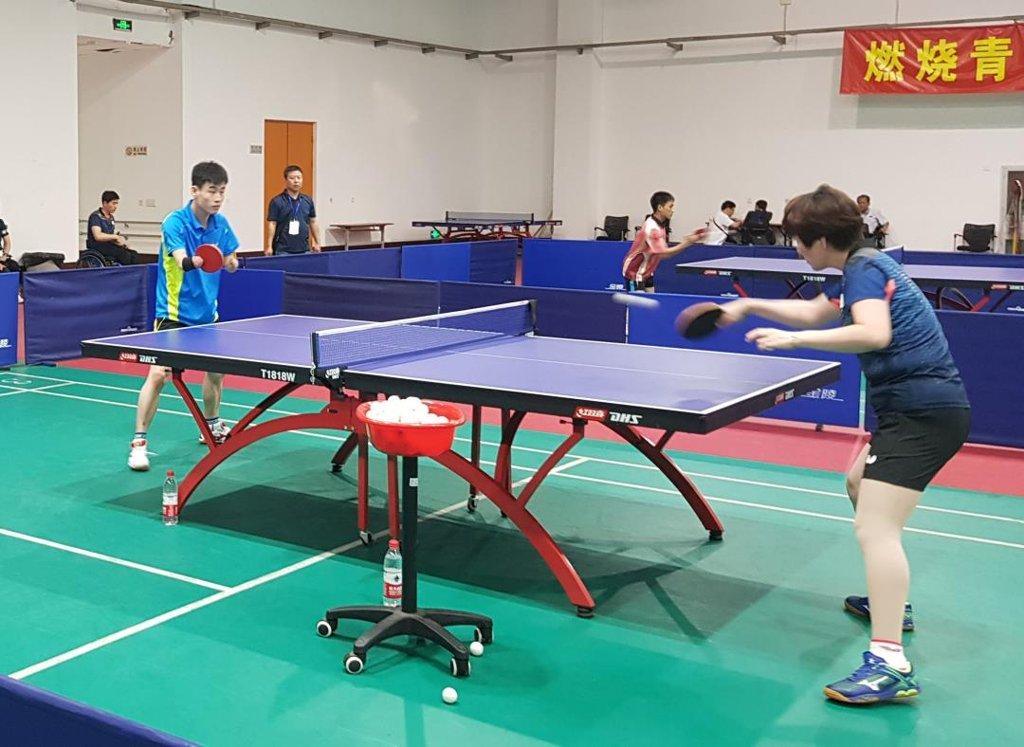 韩朝将组乒乓游泳联队出战亚残会