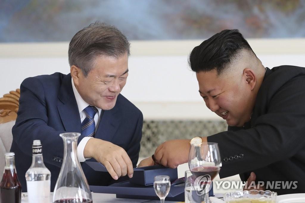 韩青瓦台:金正恩发来亲笔信致以新春问候