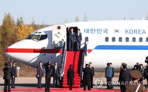 详讯:文在寅乘机离朝回韩