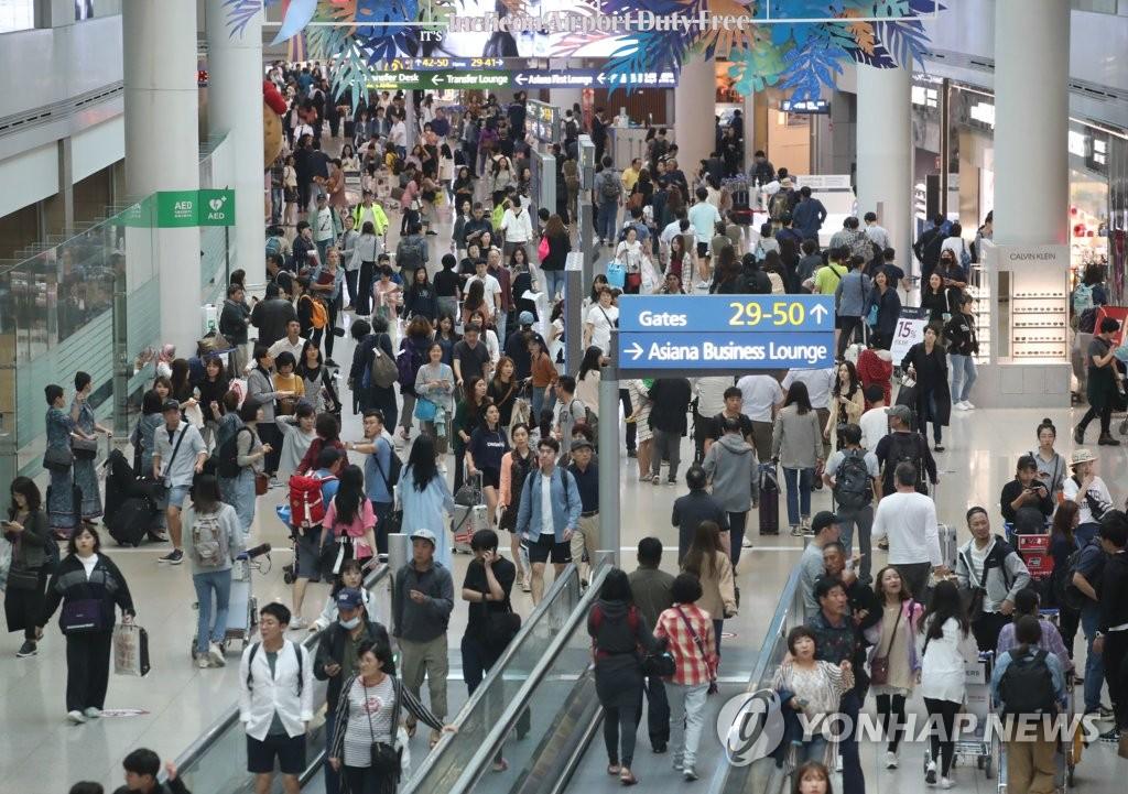 2018年仁川机场旅客吞吐量近7000万创新高