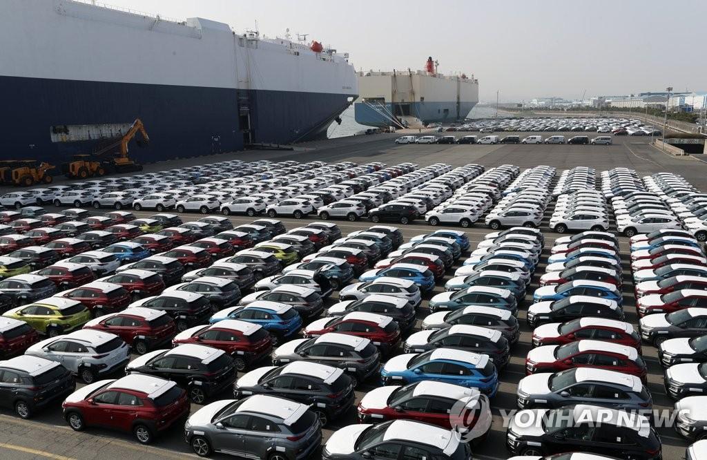 韩国1-5月整车出口8年来创新高