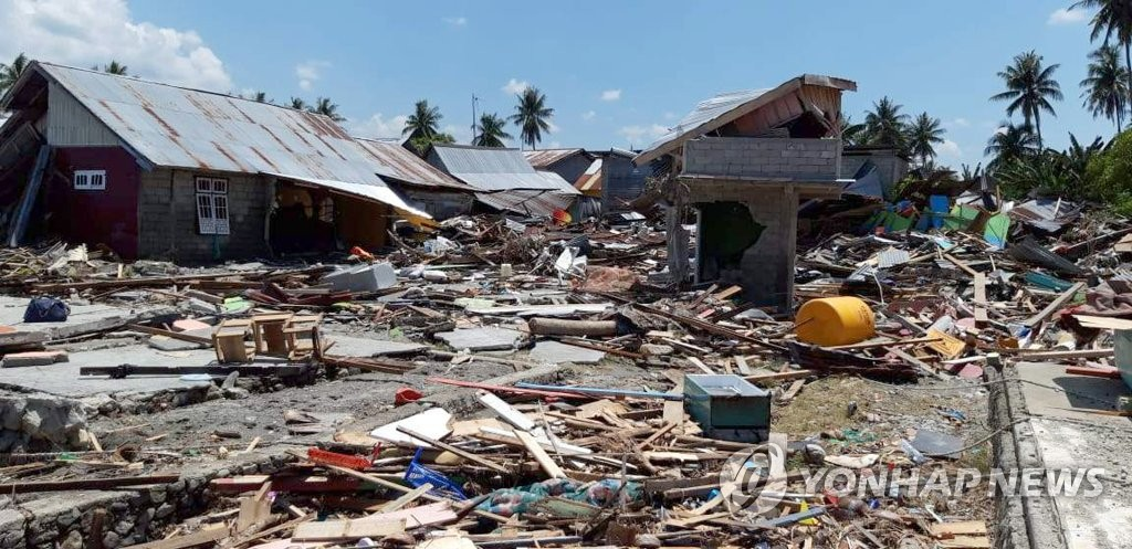 韩外交部:全力搜救印尼震区失踪公民
