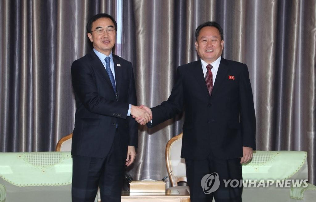 韩朝铁路对接开工仪式出席人员名单敲定