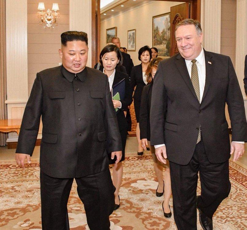 详讯:美国务卿结束访朝行程抵韩
