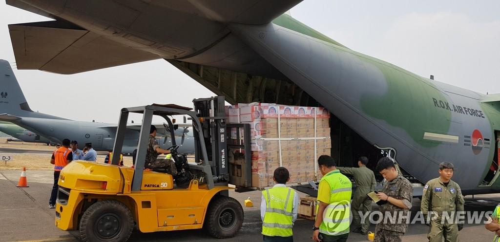 韩国救援队完成印尼震区救援任务今晚回国