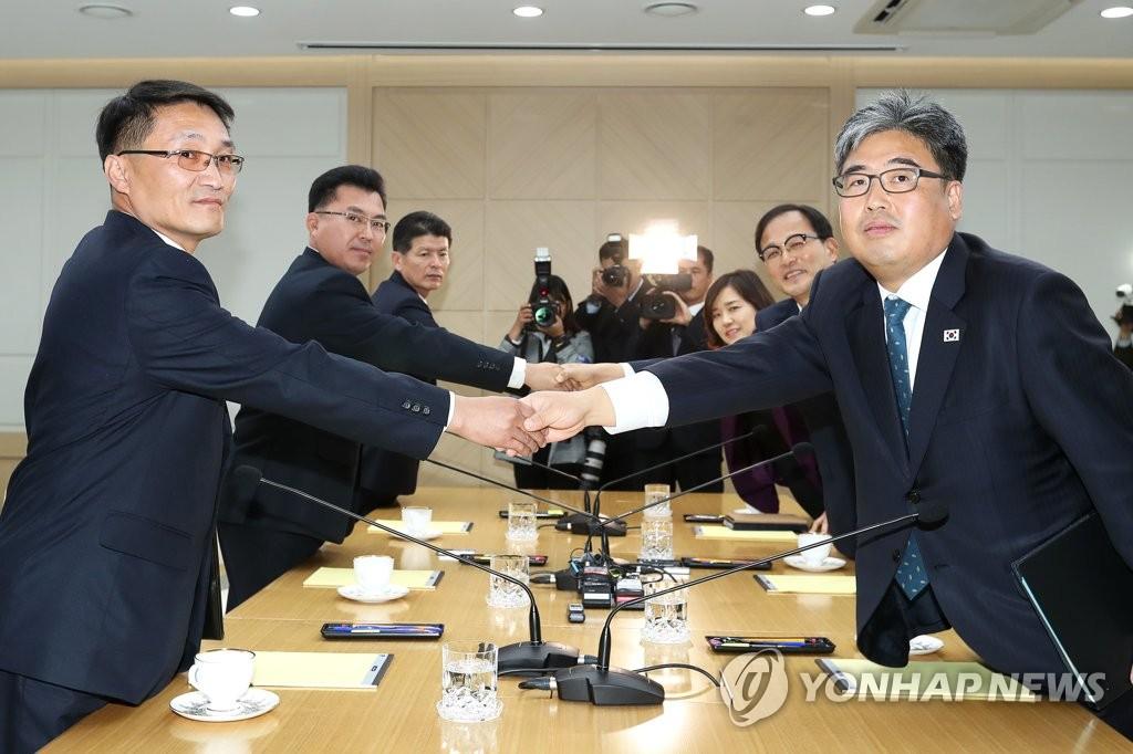 韩朝商定年内推进朝鲜10个苗圃现代化建设
