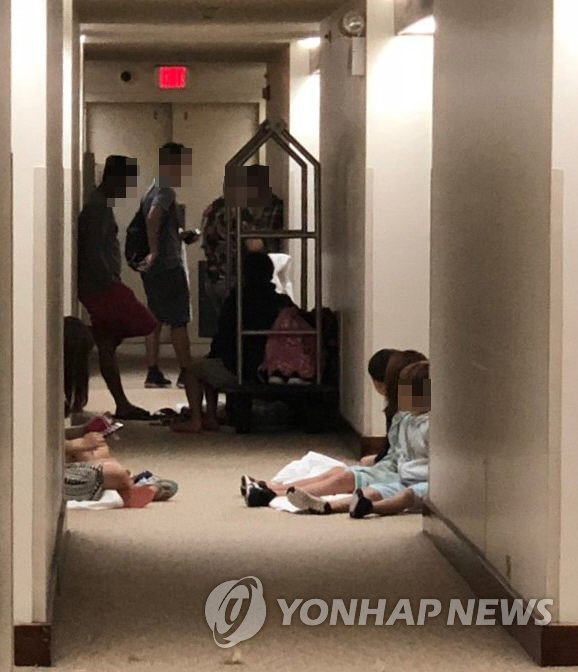 韩将向塞班岛派军机移送因台风受困公民