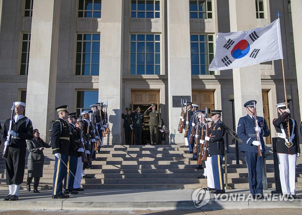 韩美军委会下月讨论移交作战指挥权