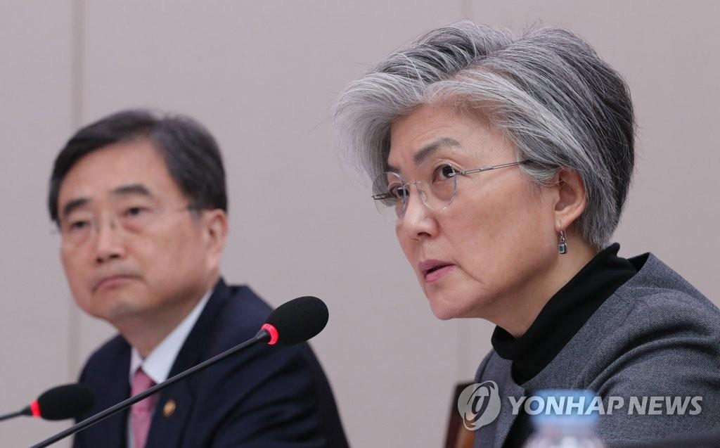 韩外长:政府争取金正恩能在年内访韩