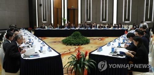 韩中日文化部长今在仁川连开双边会
