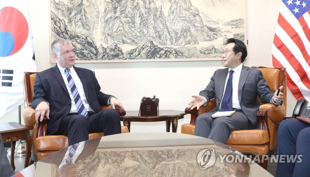 美对朝政策代表下周访韩出席涉朝工作组会议