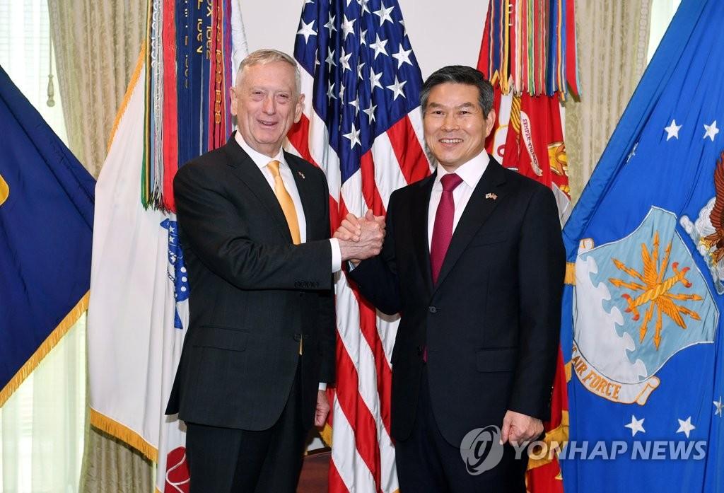 韩防长:韩美战权移交准备取得重要进展