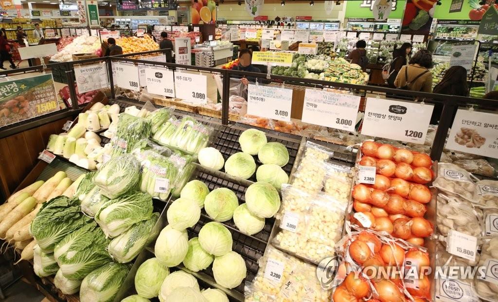 详讯:韩11月CPI同比上涨2%