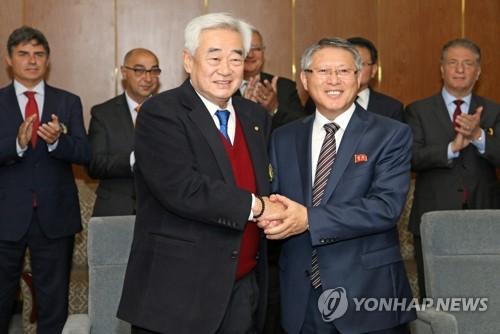 韩朝跆拳道联盟将在华开会讨论平壤协议