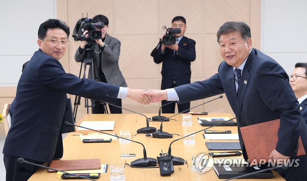 韩朝手球联队将在德合训备战明年世锦赛
