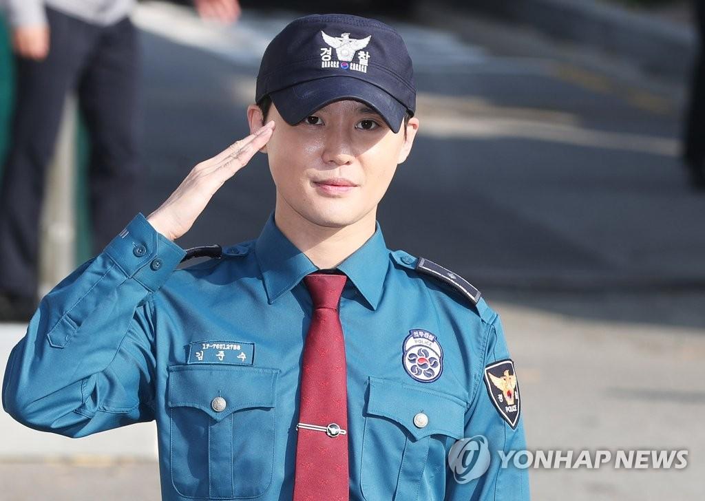 JYJ成员金俊秀服役期满退伍