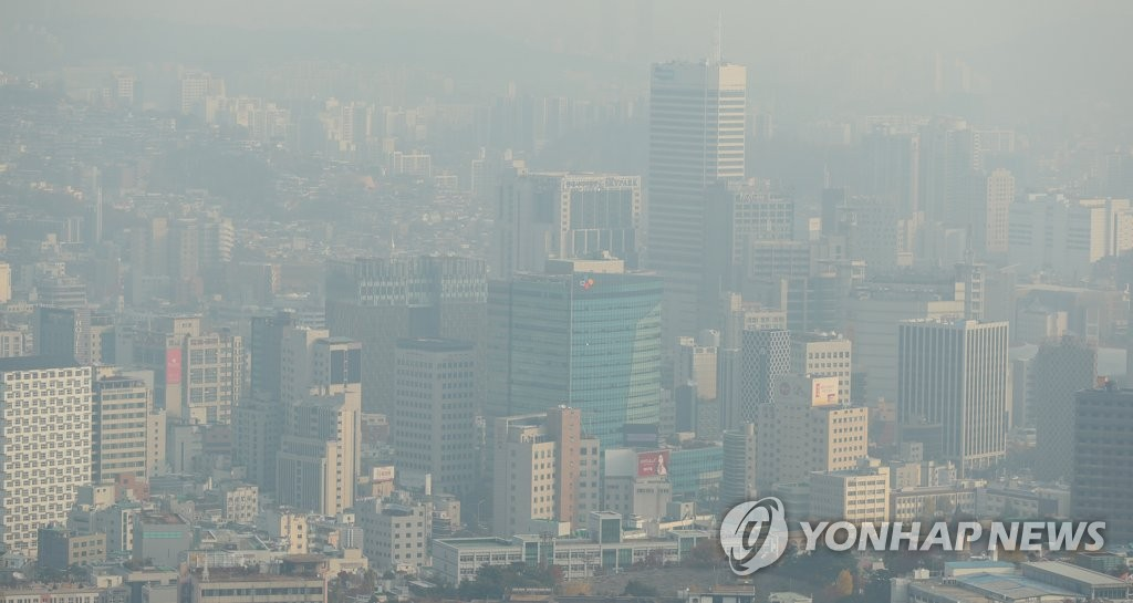 调查:韩八成民众对雾霾感到不安