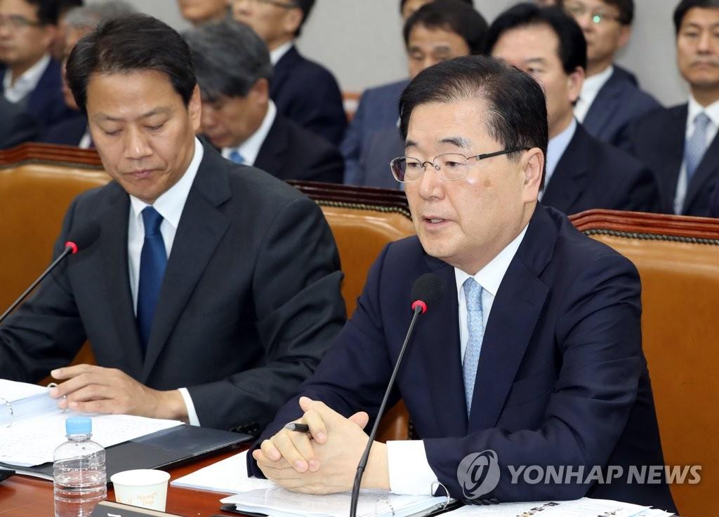 韩国国安首长:朝未封口炮阵内并无海岸炮