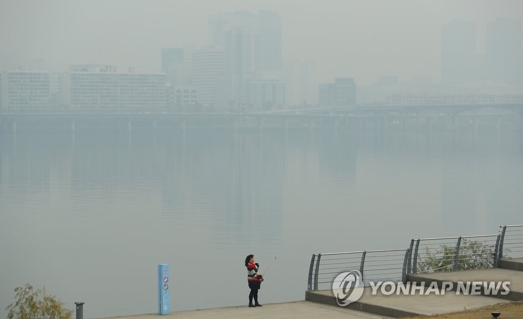 韩首都地区明启动雾霾应急减排措施