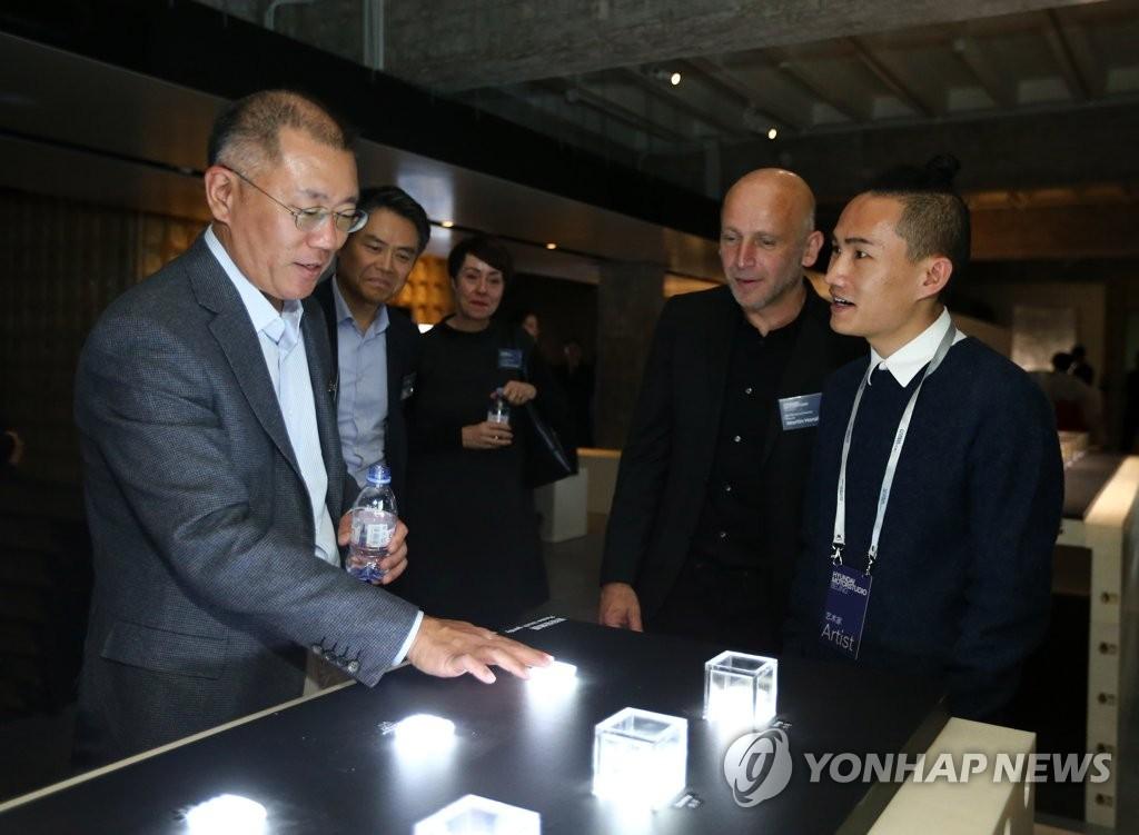 现代汽车未来演化主题艺术展在京开幕
