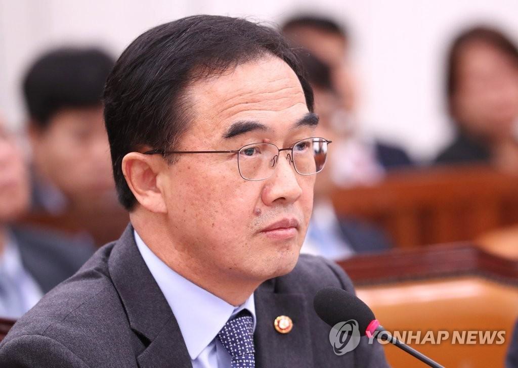 韩统一部长披露两条跨境铁路朝鲜境内长度