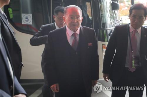 朝鲜亚太委副委员长在韩出席国际大会
