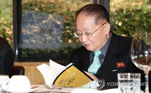 韩朝统一智囊在韩会晤