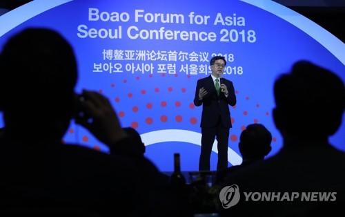 韩中高官会晤讨论经贸合作