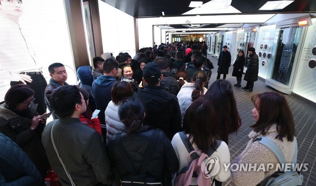 韩国免税店让利三成血拼吸引中国代购