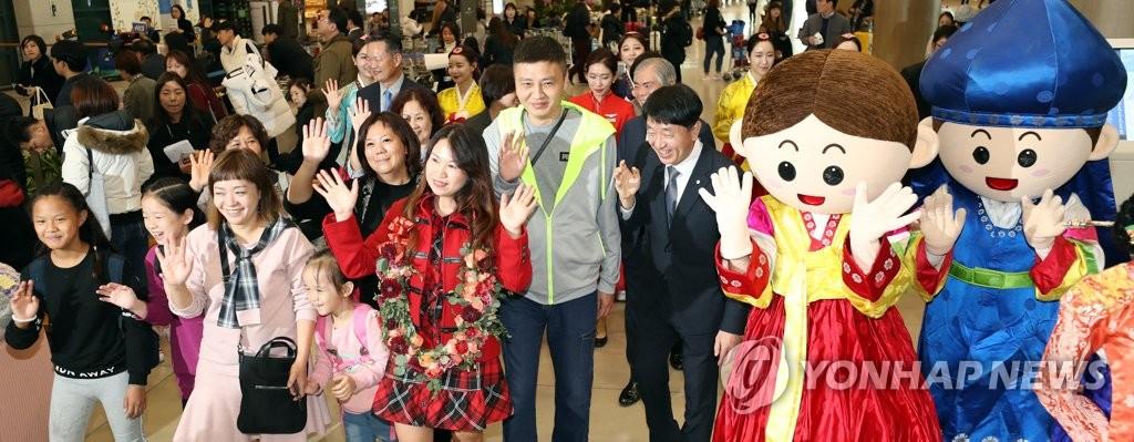 韩国2018年接待外国游客逾1500万