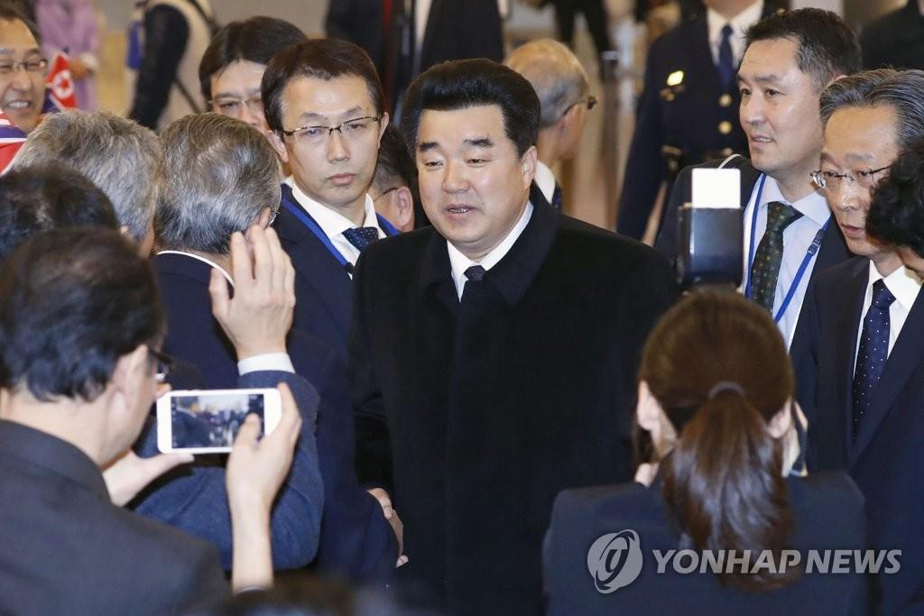朝鲜体育相抵京将赴瑞士访问国际奥委会