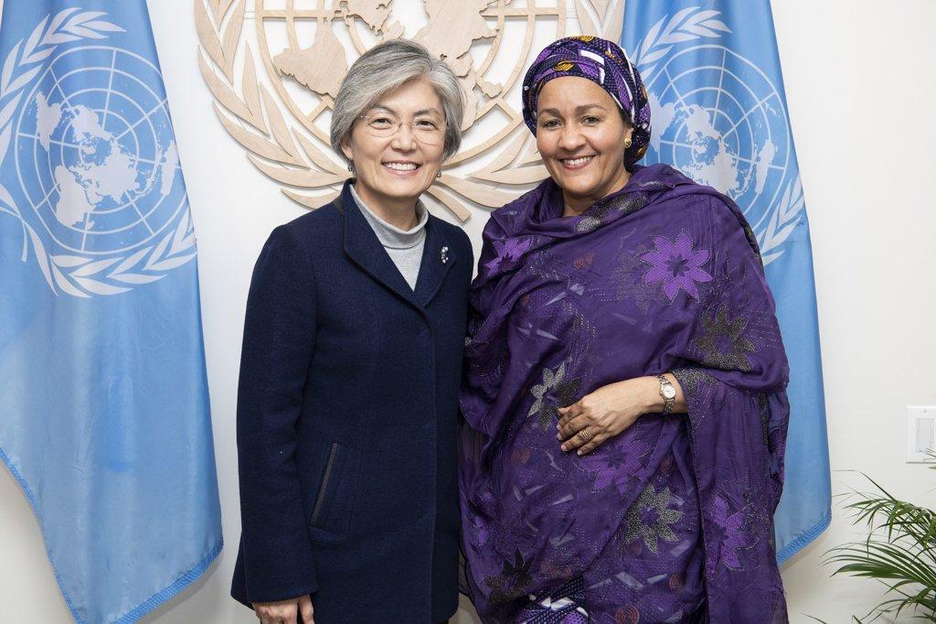 韩外长同联合国副秘书长通电话讨论抗疫