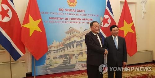 朝鲜外相访越或取改革经