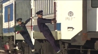韩官员:朝方铁路路基良好轨道老化严重
