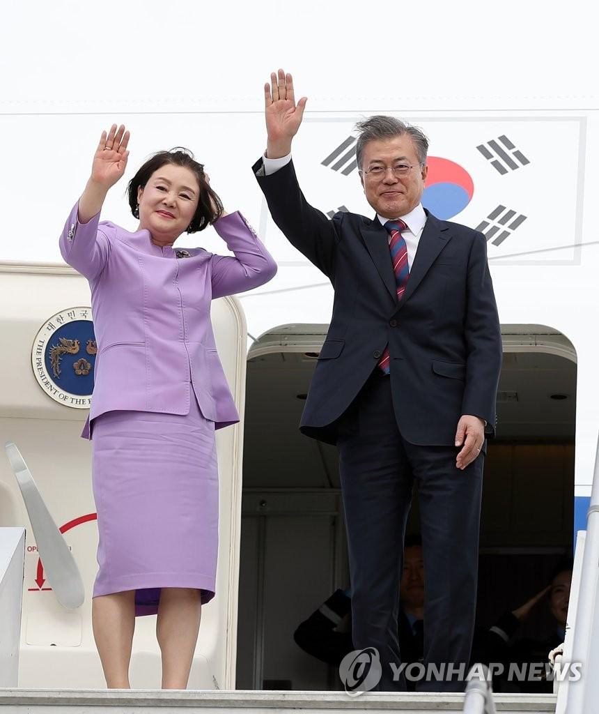 文在寅结束G20之旅启程赴新西兰