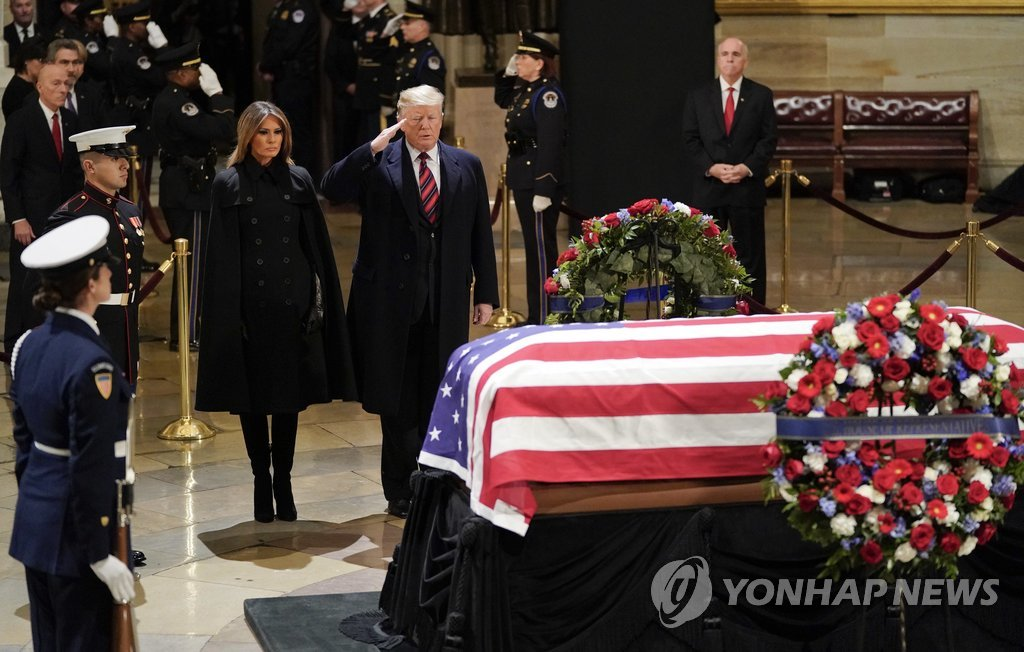 韩外长将赴美出席老布什葬礼