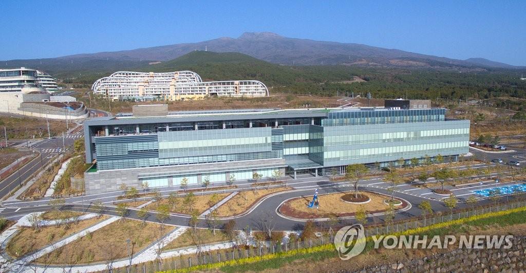 绿地国际医院全景(韩联社)
