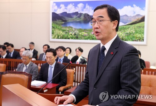 韩统一部长官:金正恩回访时间尚未敲定