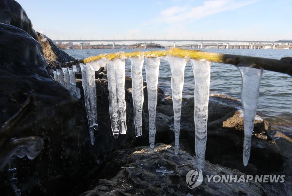 首尔遇寒潮