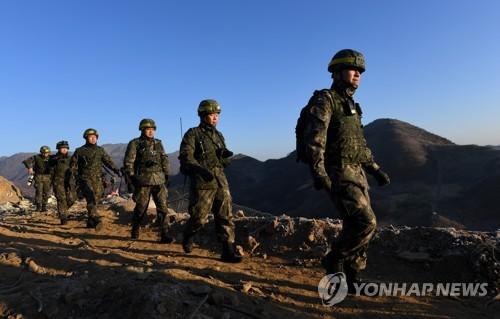 韩朝互检边防哨所拆除情况