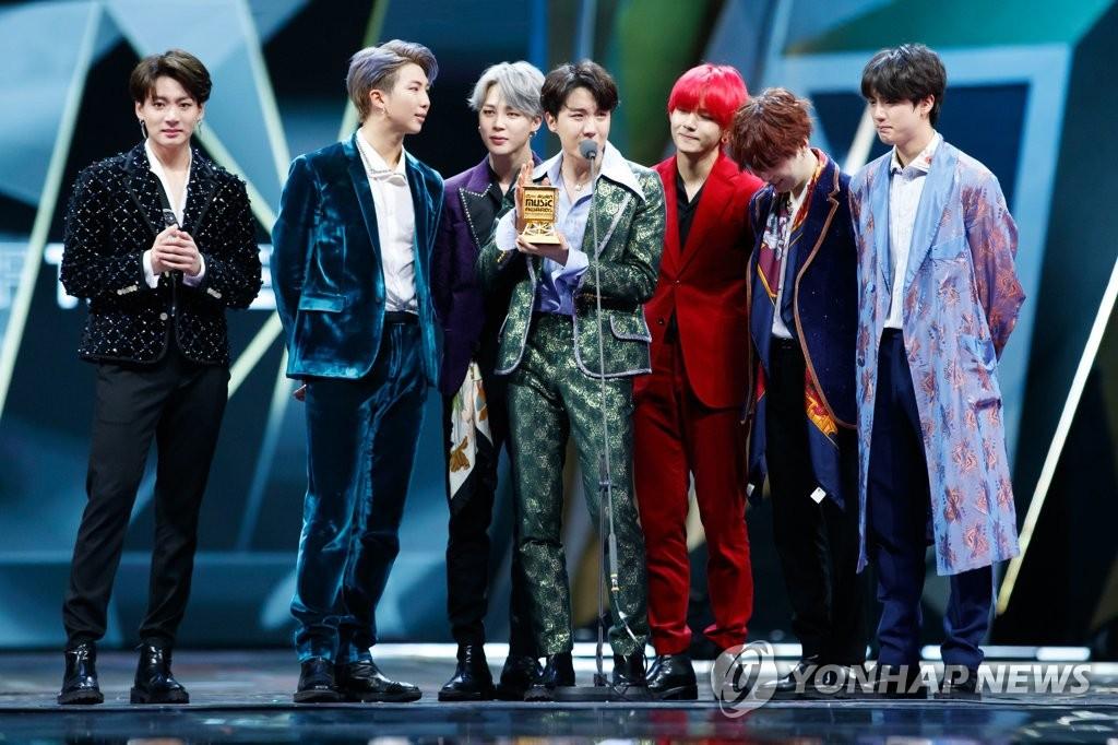 BTS获年度歌手奖