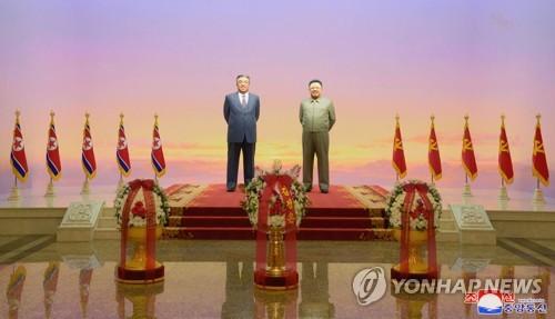 朝鲜纪念金正日去世7周年