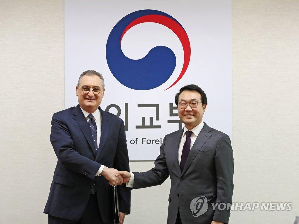 韩国对朝代表下周访俄