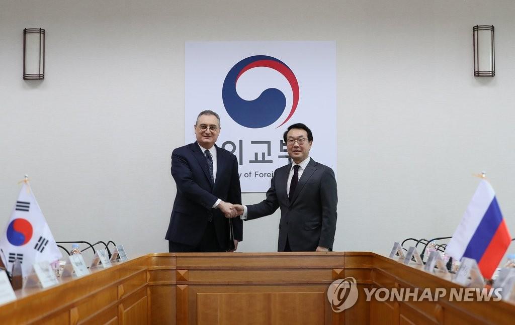 朝核六方会谈韩俄团长在首尔会晤
