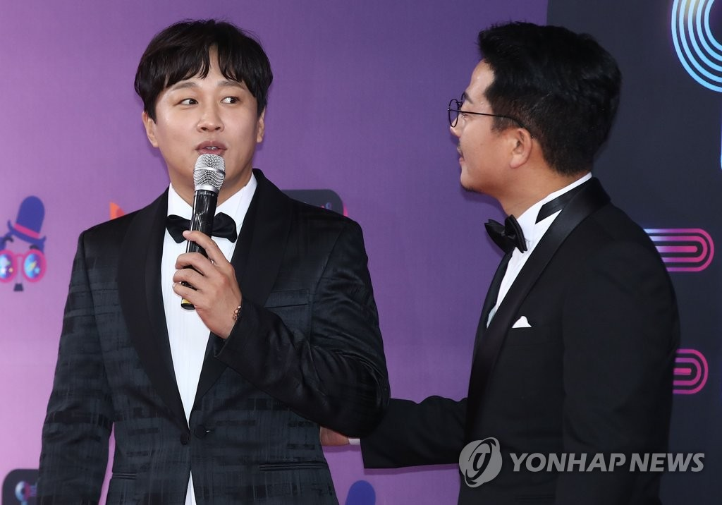 资料图片:车太铉(左)和金俊浩(韩联社)