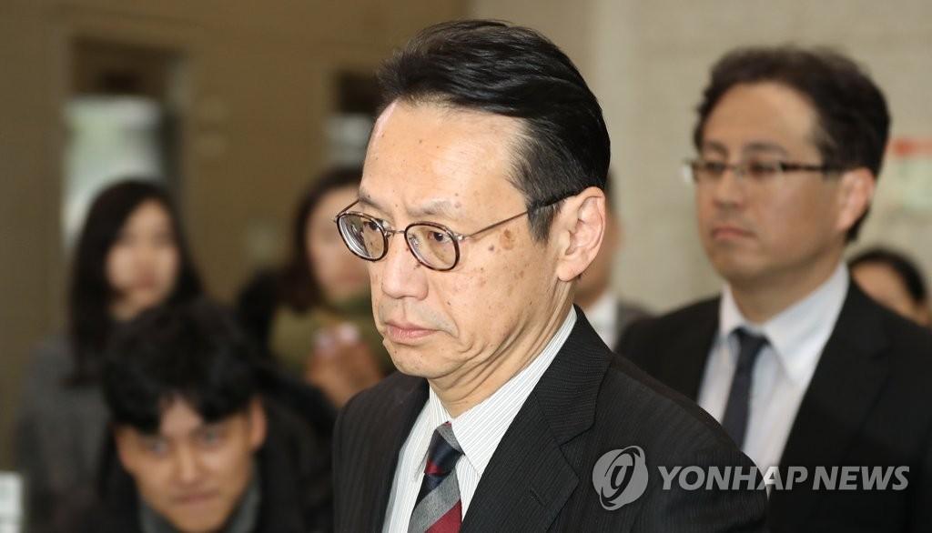 资料图片:日本外务省亚大局长金杉宪治(韩联社)