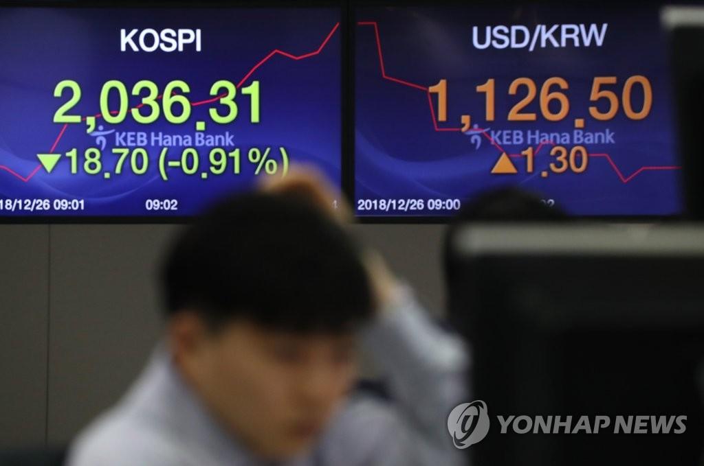 韩政府:建应急机制防境外股市震荡国内