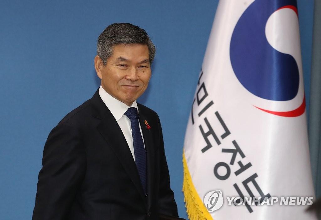 韩防长与美国代理防长通电话商讨半岛事宜